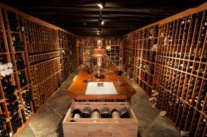 Wine cellar front